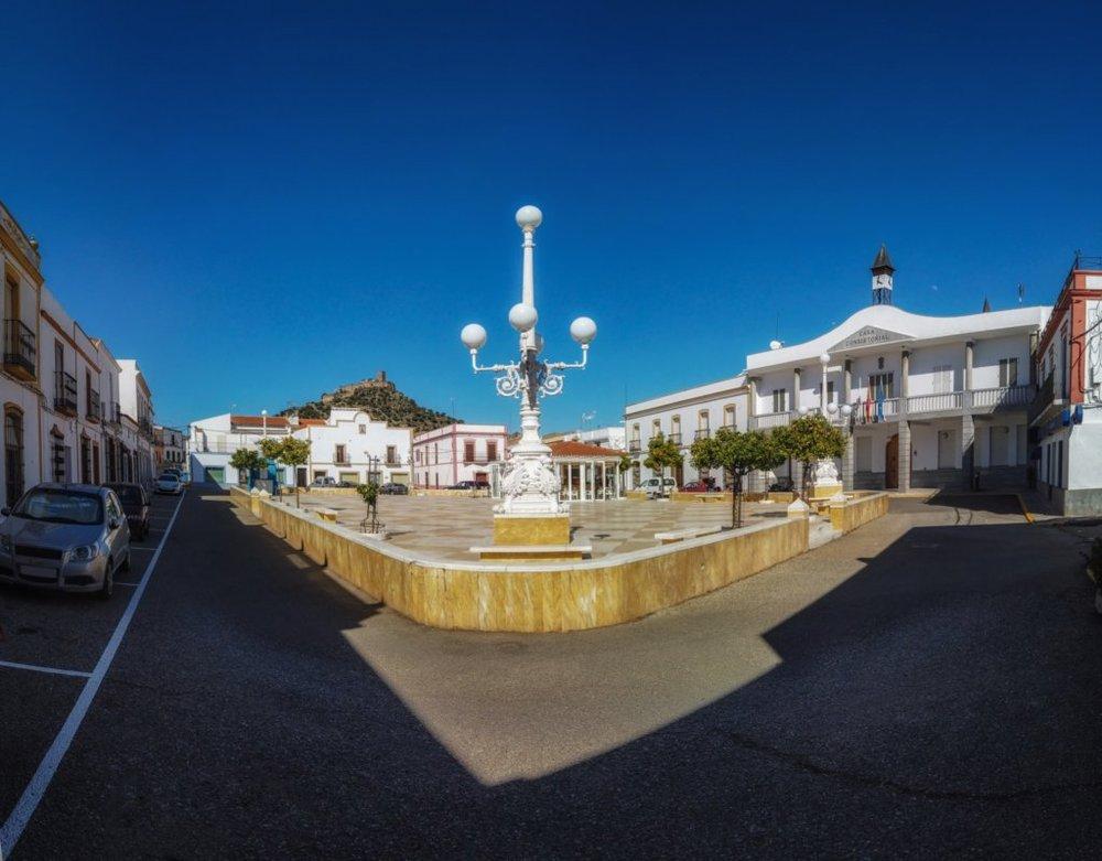 plaza de España em Alconchel