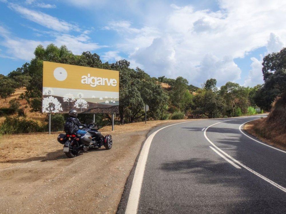 A chegar ao Algarve