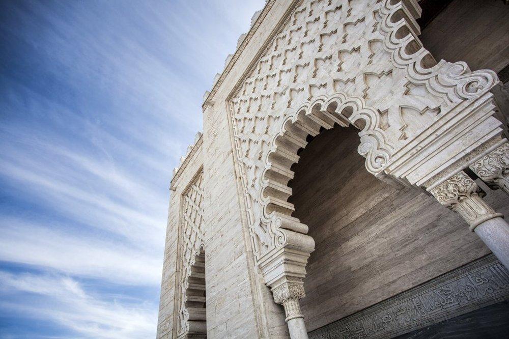 Mausoléu de Maomé V, Rabat