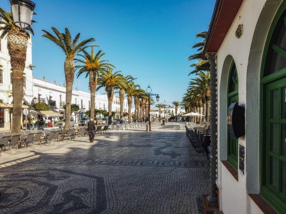 plaza de España em Olivença