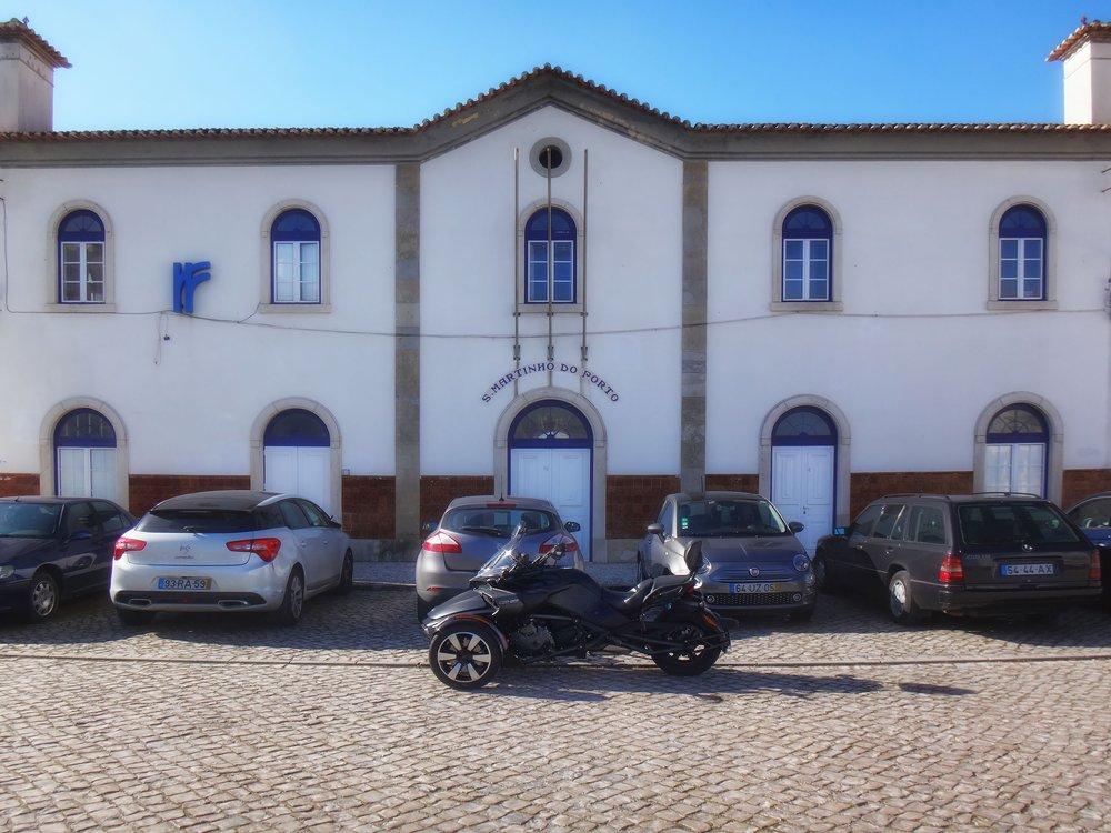 estação de São Martinho do Porto
