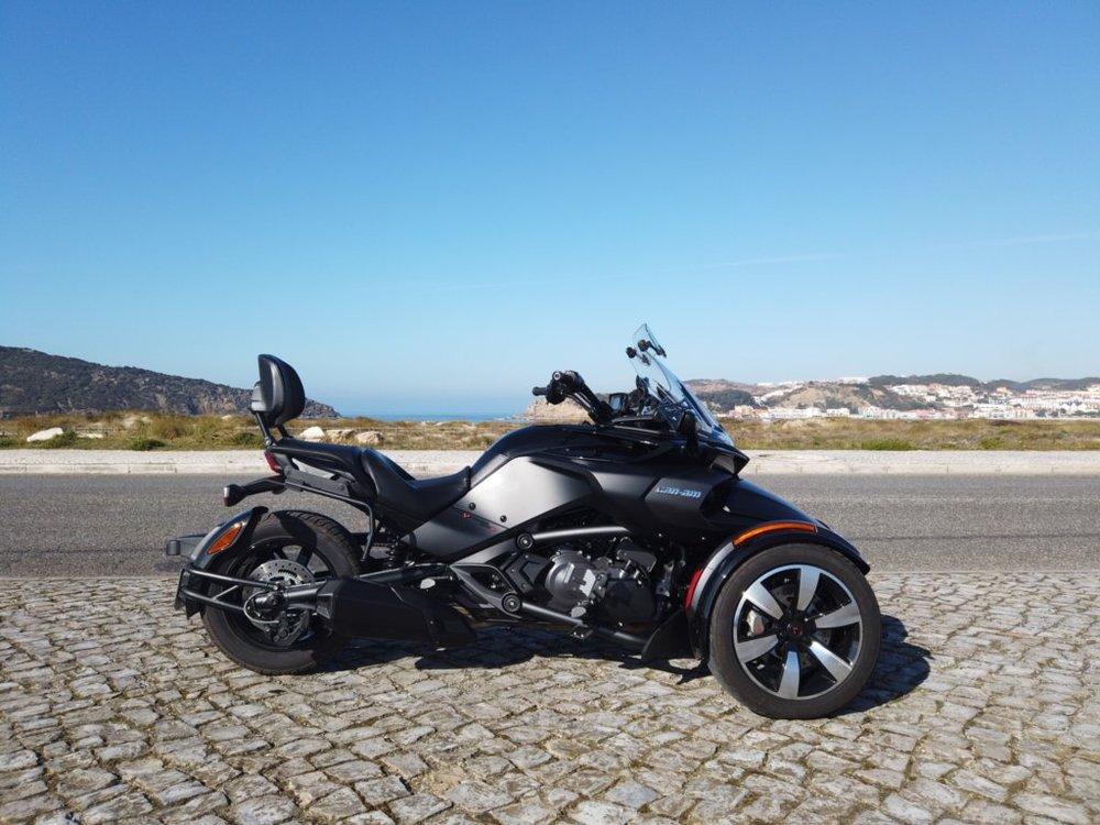 Spyder em São Martinho do Porto