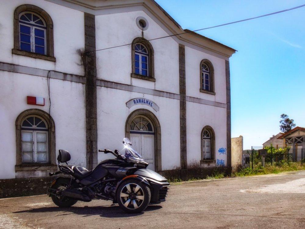 Spyder na estação do Ramalhal