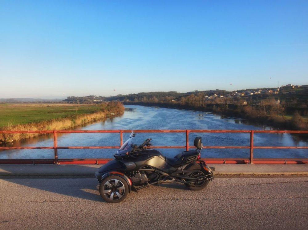 Spyder e o rio Mondego